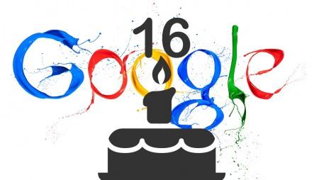Google slavi 16. rođendan